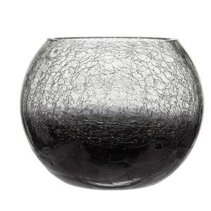 Svietnik Ball Crackle Purple, 20x15 cm