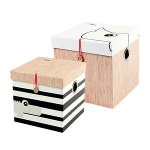 Sada 2 veľkých boxov Done by Deer Square