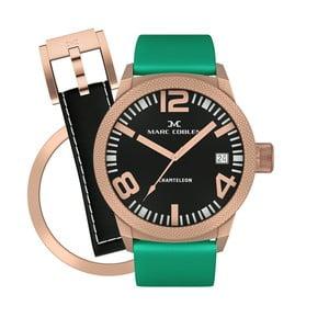 Dámske hodinky Marc Coblen s remienkom a krúžkom na ciferník naviac P98