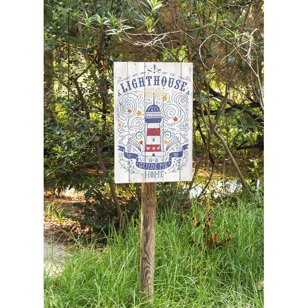 Nástenná ceduľa Lighthouse
