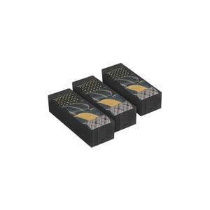 Set 3 úložných boxov Dividers, 30x10 cm