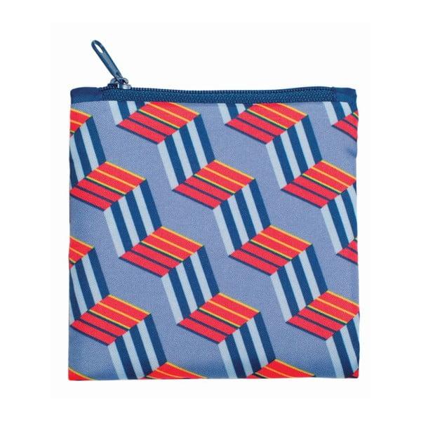Skladacia nákupná taška skapsičkou LOQI Cubes