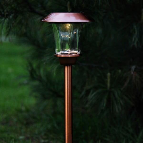 Medené záhradné LED svetlo Best Season Minimalista
