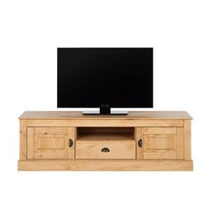 Prírodná TV komoda z borovicového dreva Støraa Tommy