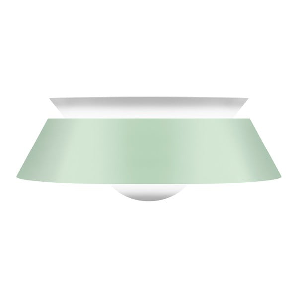 Svetlozelené stropné svietidlo Cuna Mint Green