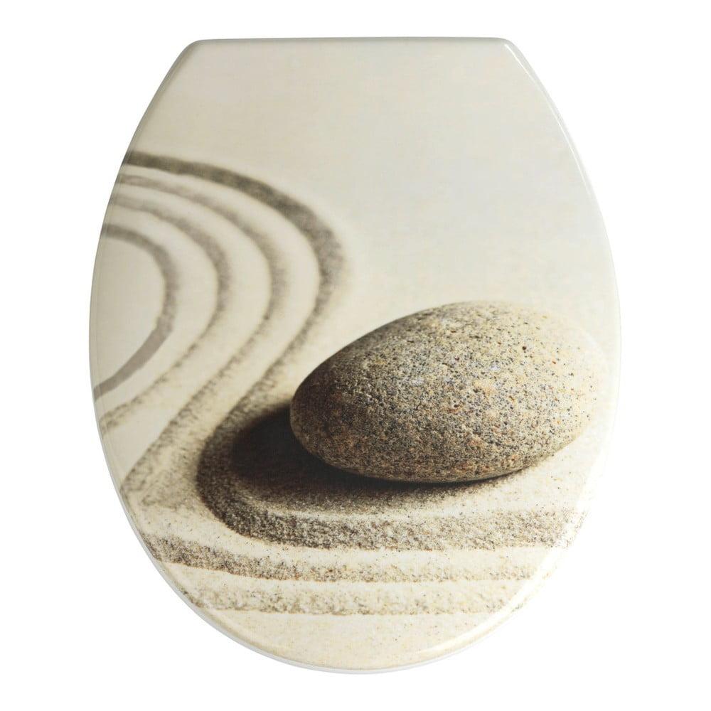 WC sedadlo Wenko Sand And Stone, 45 × 38 cm