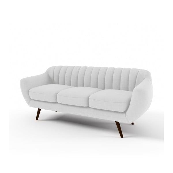 Pastelovosivá trojmiestna sedačka Vivonita Kennet