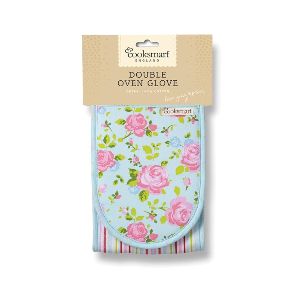 Kuchynská rukavica z bavlny Cooksmart England Florals