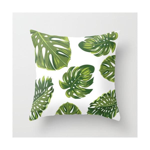 Obliečka na vankúš Palm White, 45x45 cm
