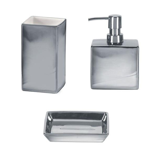 Kúpeľňový set Glamour Silver