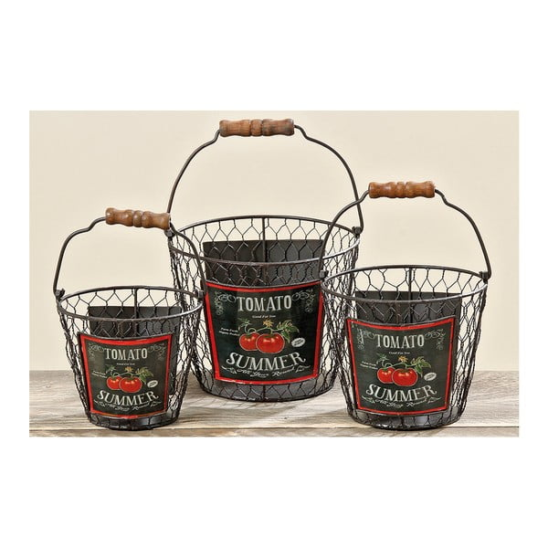 Sada 3 košíkov Tomato