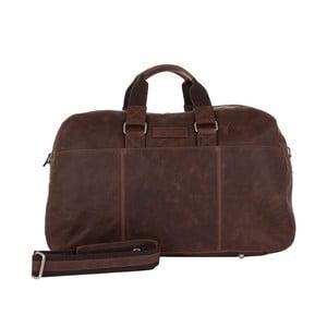 Pánska cestovná taška Vintage Overnight Brown