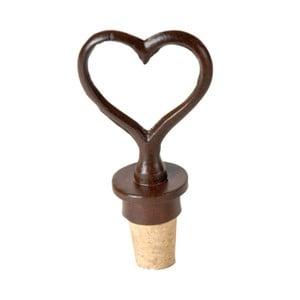 Zátka na víno v tvare srdca Antic Line Heart