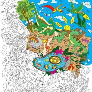 Maľovanky Creative Gifts Dinoland