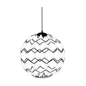 Čierne závesné svietidlo Globen Lighting Illuminati, ø 50 cm