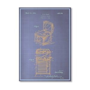 Plagát Phonograph Cabinet, 30x42 cm