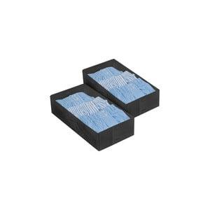 Set 2 úložných boxov Dividers, 30x15 cm