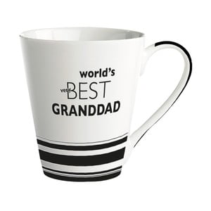 Porcelánový hrnček KJ Collection World's best granddad