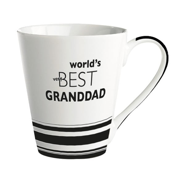 Porcelánový hrnček KJ Collection World's best granddad, 300ml
