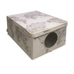 Úložný box Maps, 50x40 cm