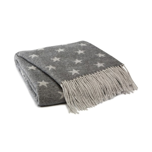 Prikrývka Himmelen Grey, 125x170 cm