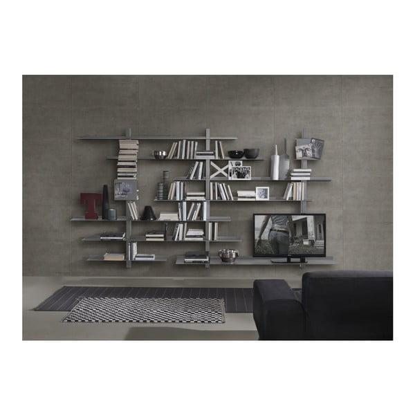 Knižnica Zefiro III Grey