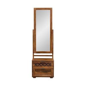 Toaletný stolík z masívneho palisandrového dreva so zrkadlom Massive Home Rosie