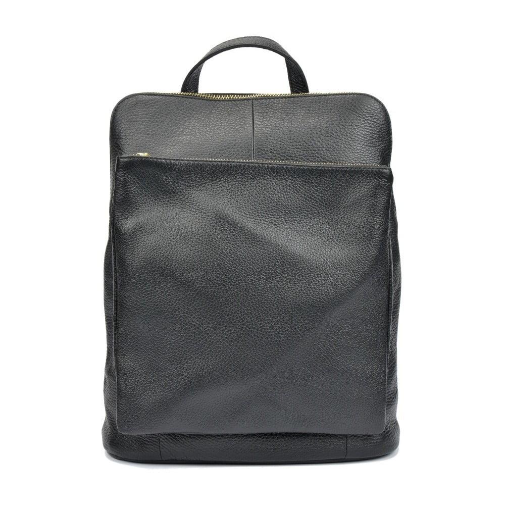 9a5d338f6b8 Čierny dámsky kožený batoh Isabella Rhea Gunna Nero
