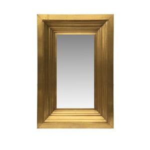 Nástenné zrkadlo zlatej farby Moycor Venecia