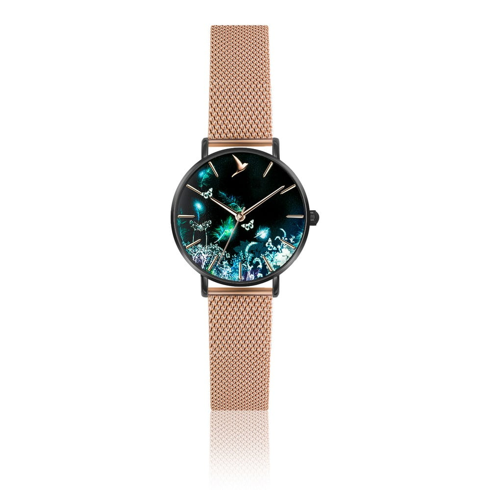 278050fa4 Dámské hodinky z antikoro ocele v zlatoružovej farbe Emily Westwood Dream