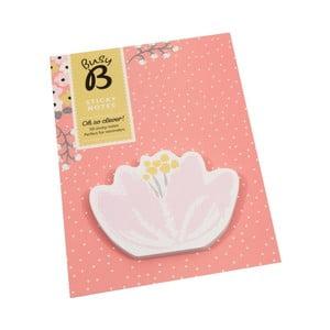 Lepiace papieriky Busy B Sticky Flower