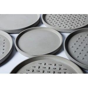 Betónový tanier MINUS