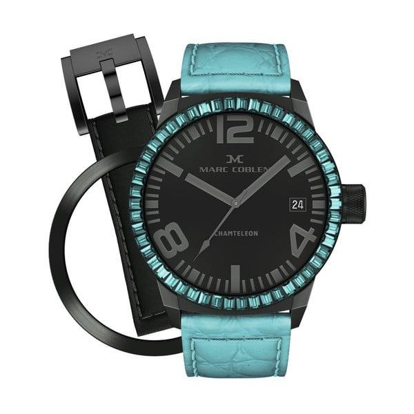 Dámske hodinky Marc Coblen s remienkom a krúžkom na ciferník naviac P43