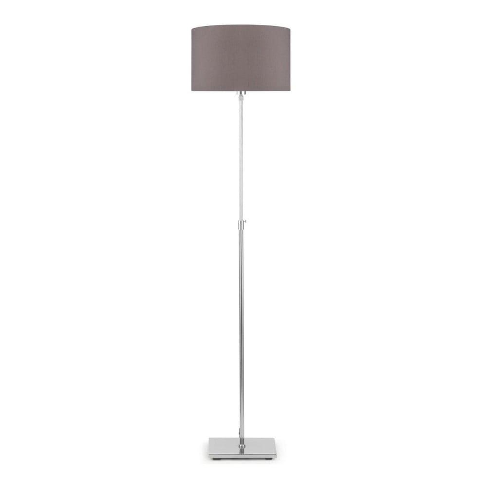 Sivá voľne stojacia lampa so sivým tiendilom Citylights Bonn