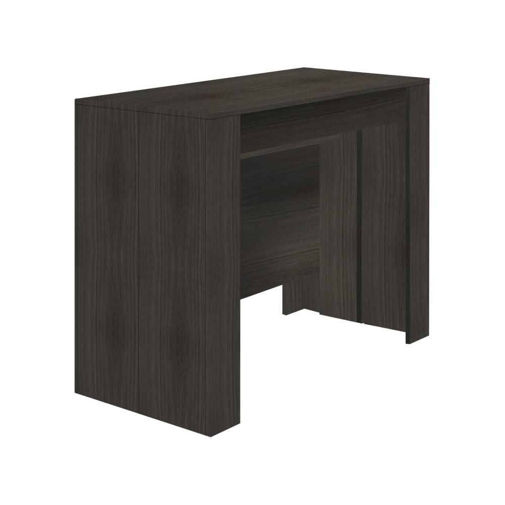 Tmavosivý rozkladací konzolový stolík 13Casa Granada