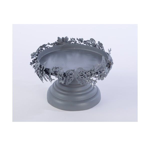 Kovový stojan Pillar, sivý