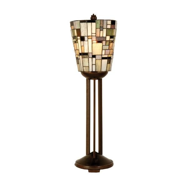 Tiffany stolová lampa Complete, 76 cm
