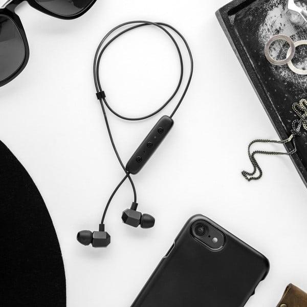 Čierny ochranný kryt na telefón pre iPhone 7 a 8 Plus Happy Plugs Slim
