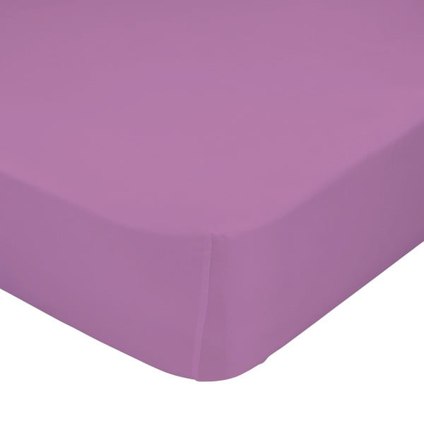 Fialová elastická plachta Happynois 90x200 cm