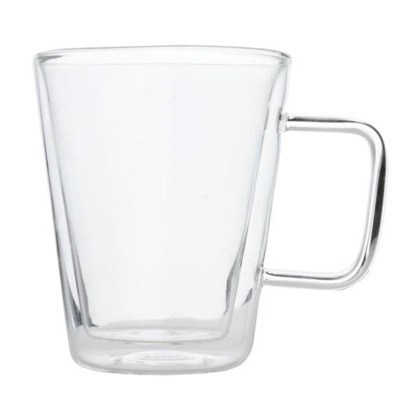 Sada 2 dvojstenných pohárov Bredemeijer Milano, 400 ml