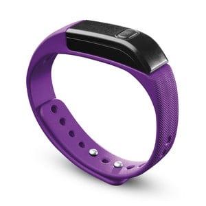 Bluetooth fitness náramok CellularLine EASYFIT, ružovočierny
