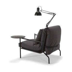 Sada lampy a stolíka ku kreslu Innovation Noir a pohovke Neat
