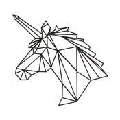 Nástenná kovová dekorácia Wall Decor Unicorn