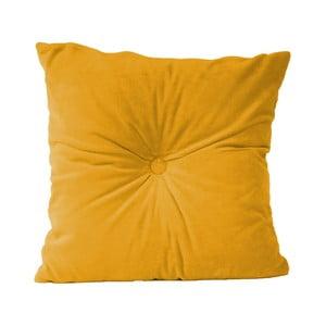 Žlutý bavlněný polštář PT LIVING, 45 x 45 cm