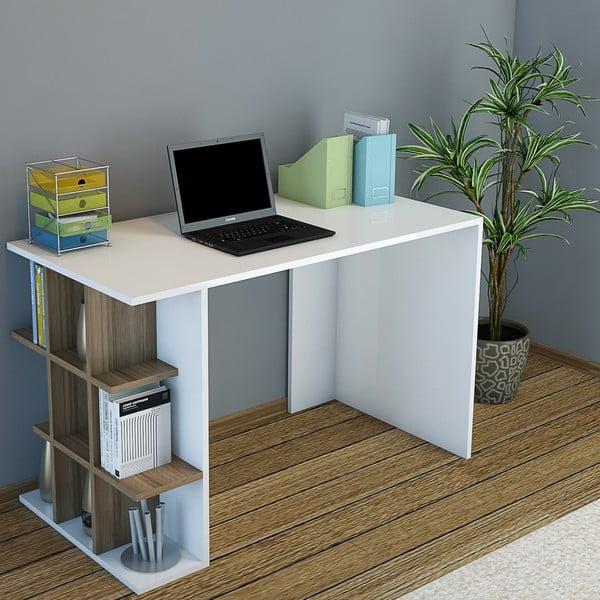Pracovný stôl Minar Plus Walnut