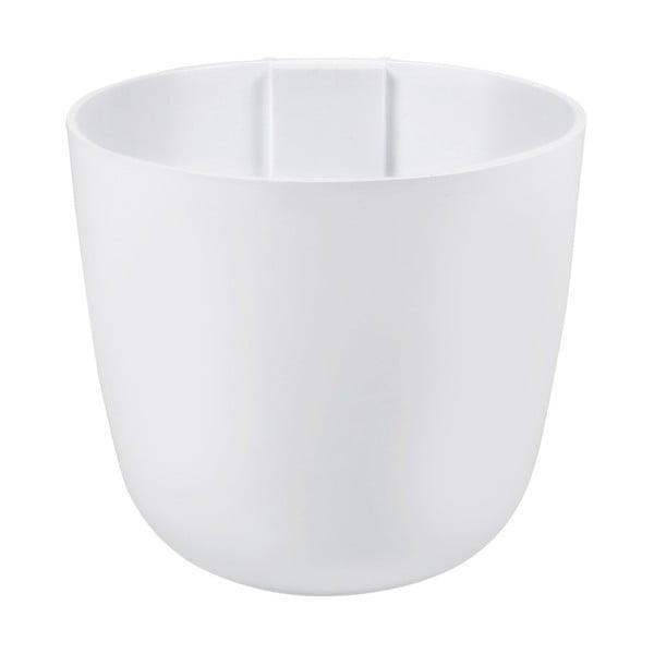 Magnetický kvetináč Bowl 12x11x12 cm, biely
