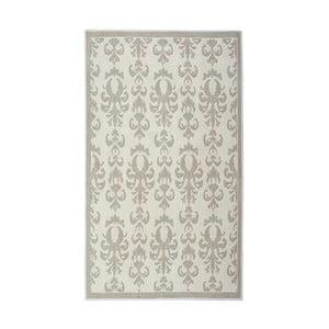 Bavlnený koberec Baroco 80x300 cm, krémový