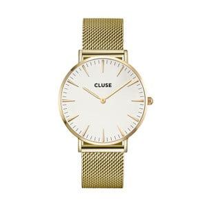 Hodinky Cluse La Bohéme Mesh Gold/White