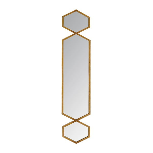 Zrkadlo Trio Gold, 21x101 cm