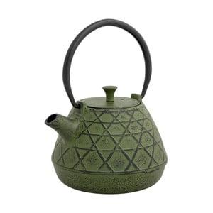 Olivovozelená čajová kanvica so sitkom Brandani Cast, 1 l